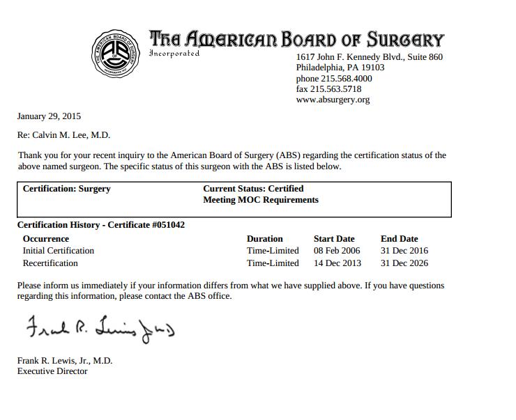 Is Dr. Tammy Wu Board Certified in Plastic Surgery? – Modesto Botox ...